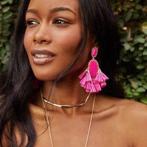 NWT KENDRA SCOTT Kristen Statement Earrings